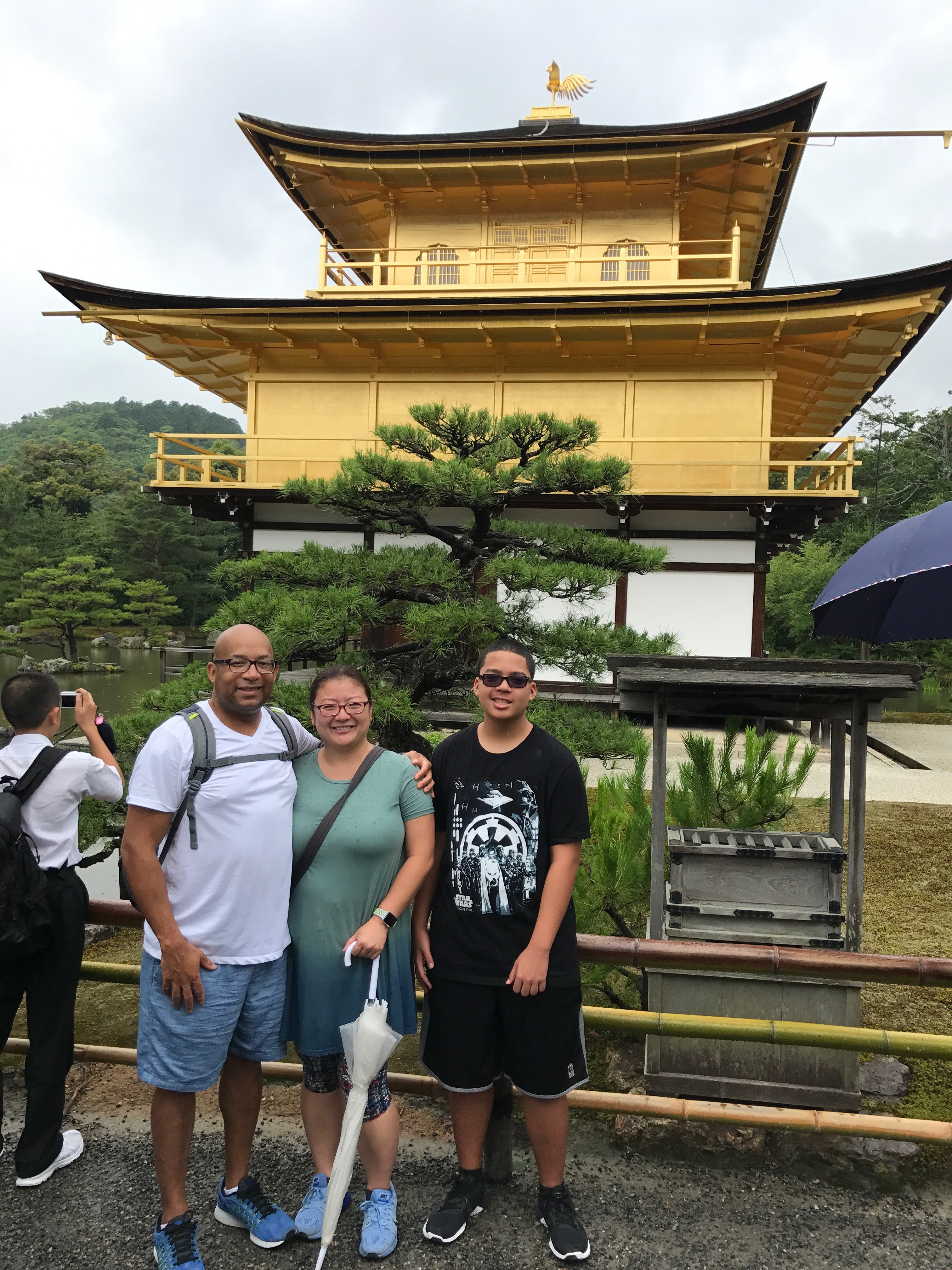 What Should You Wear While Traveling In Japan: Old Navy - Kinkakuji Temple