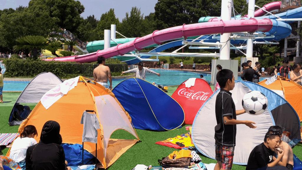 Japanese Etiquette - Tokyo Water Park