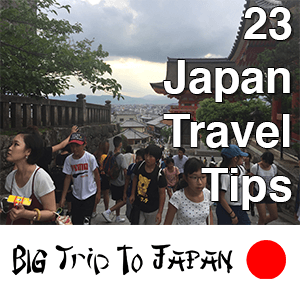 23 Japan Travel Tips