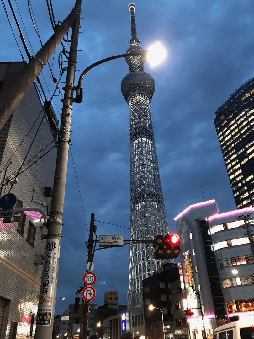 Tokyo Skytree At Night - Tokyo Skytree: Cool Things To Do In Tokyo Japan: Must Do In Tokyo Video
