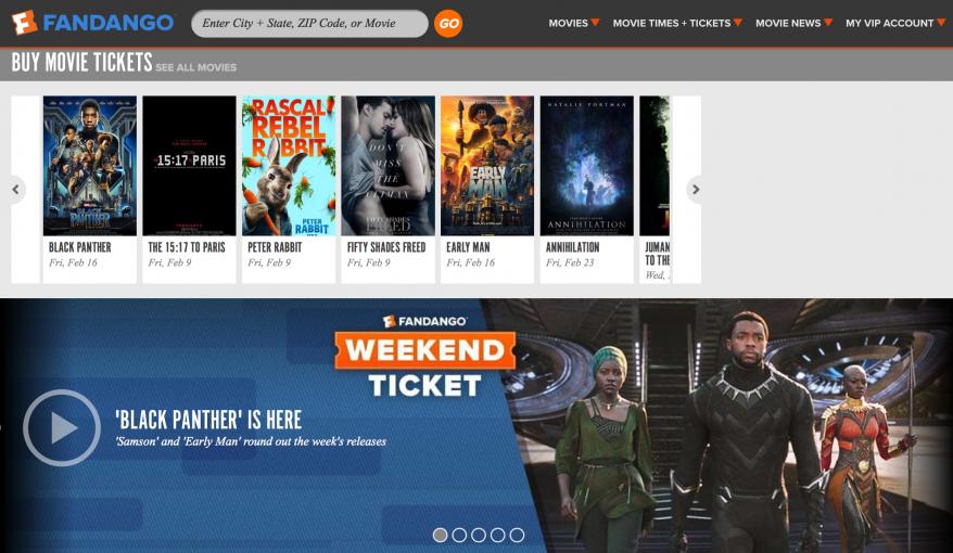 Buy Fandango Movie Tickets 🎥 🎬 🎞️